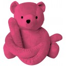 Eurobear velours rose