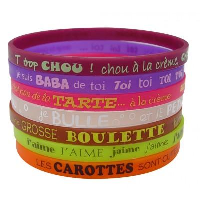 Set 7 bracelets MIAM